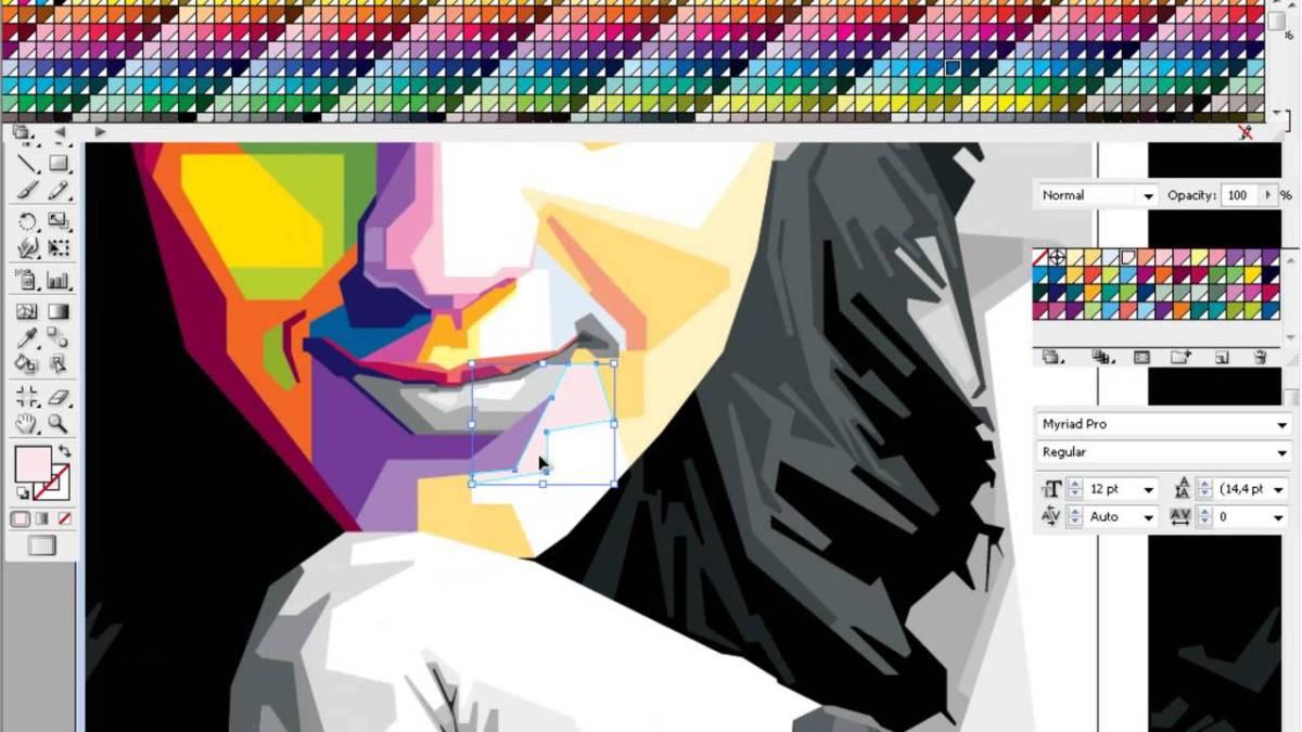 Kursus Komputer Adobe Illustrator Dengan Materi