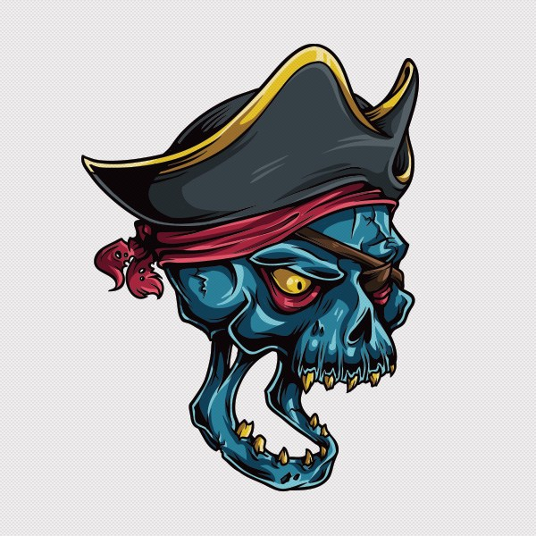 Adobe-Illustrator-tutorial-draw-vector-pirate-skull-1